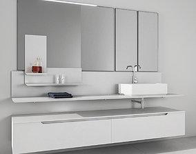 3D model Bathroom furniture set Arcom Moov 2