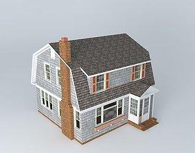 Dutch Colonial House 3D