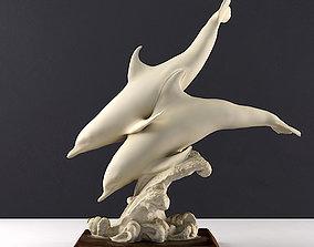 Dolphin Sculpture 3D print model