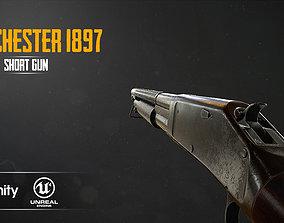 WINCHESTER 1897 3D asset