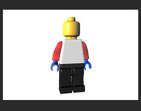 Lego Man mini fig AAA 3D asset