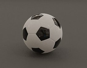 Football - Soccer Ball - PBR - Game Ready 3D model
