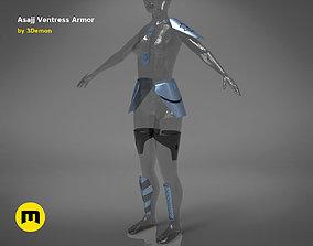 Asajj Ventress armor 3D print model