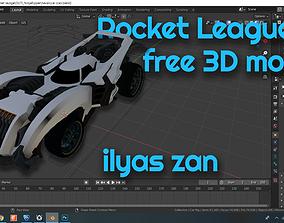 rocket league 3D model model FREE HotShot rigged