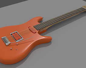 Electrical guitar ref Ibanez 3D