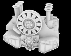 3D printable model PORSHE 911 ENGINE STL