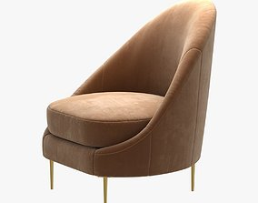 shine by sho sandrine chair 3D model
