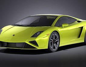 Lamborghini Gallardo lp560 4 2015 VRAY 3D model