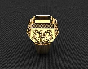 3D print model Ring-man-1