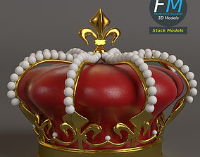 3D PBR Royal crown