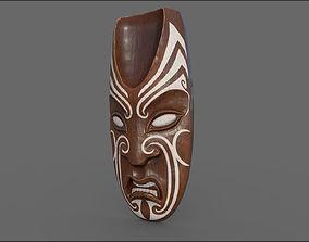 Maori mask 3D model