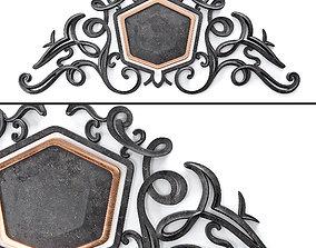Decor Lepnina Granat 3D model