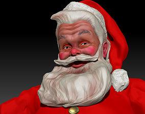Santa Claus classic by Haddon Sundblom Textured 3D
