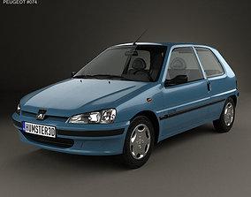 Peugeot 106 Electric 3-door 1993 3D
