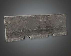 Concrete Military Barrier - MLT - PBR Game Ready 3D model