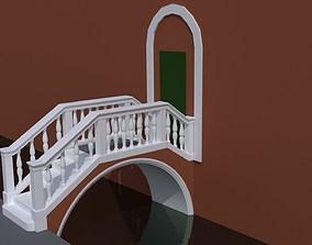 Venice Bridge fbx 3D