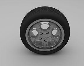 3D brakes Porsche Wheel