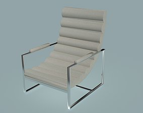 Milo Baughman Recliner Chair 3D model
