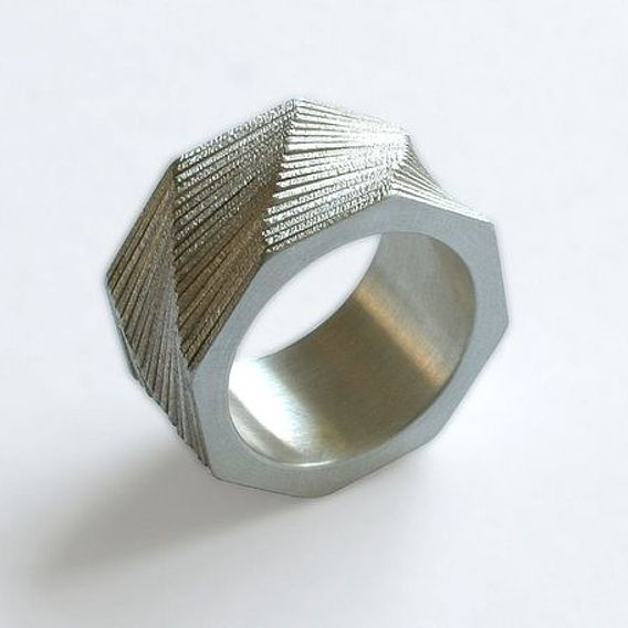 Spiral Ring Collection