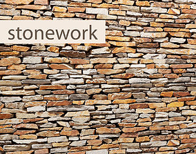 Stone slate 3D 30