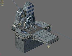 Science Fiction - Church 01 3D model