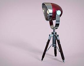 headlight on tripod 3D model