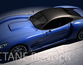 3D model Invictus Sports Car Concept