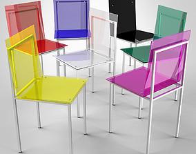 Adelphi Chair by Edra 3D model