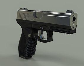 3D model Taurus PT 24 - 7 gun