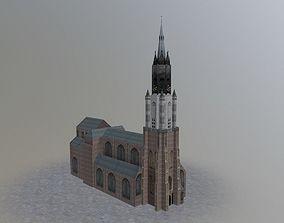 3D asset Den Haags Delfts Church