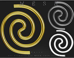 Swirl jewelry 3D model