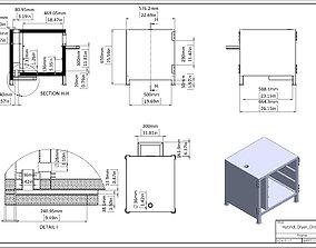 3D model Hybrid Dryer