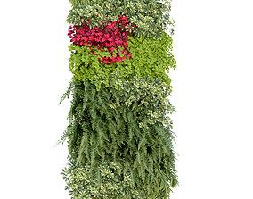 3D Vertical Garden 2 bark
