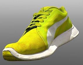 Sneaker 3D model low poly game-ready