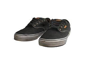 Vans pair of shoes 3D model