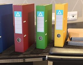 3D asset Paper Files