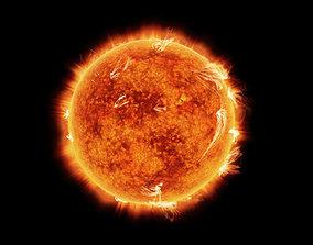 Sun Animated 3D