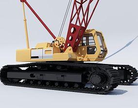 Crawler crane02 3D asset