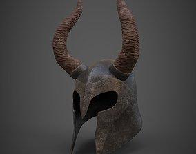 Helmet 3D asset game-ready