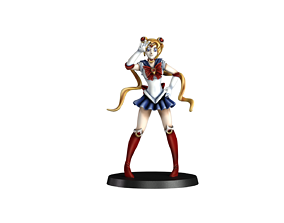 3D print model Sailor moon fan art 32mm