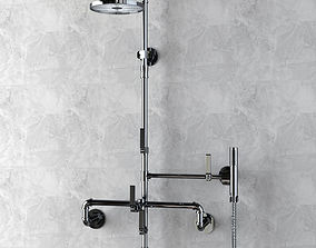 3D model Watermark Designs Thermostatic Shower
