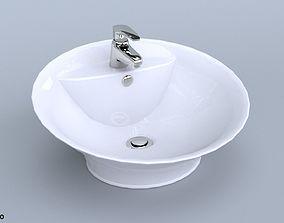 Standalone Bathroom Sink 3D model