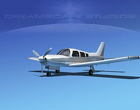 Piper Cherokee Arrow 3D rigged