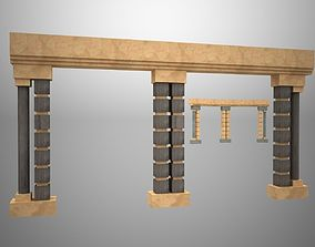 The entrance to the Park 3D model