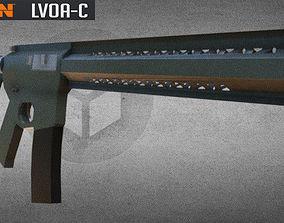 3D model LVOA -C RIFLE