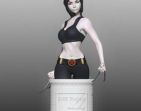 3D print model X-23 aka Laura Kinney from the Marvel