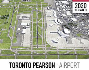 3D model Toronto Pearson International Airport - YYZ