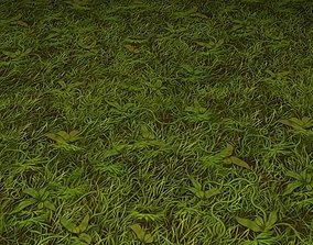 ground grass tile 23 3D model
