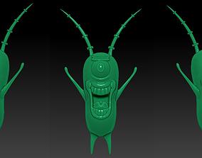 3D Plankton Cartoon