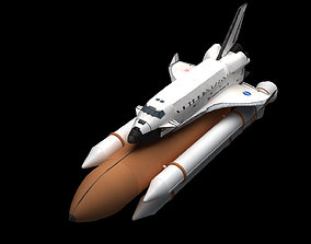 rocket Space Shuttle 3D model